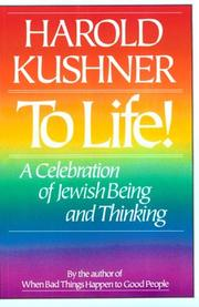 Cover of: To life!: A Celebration of Jewish Being and Thinking