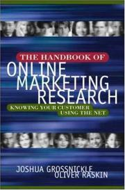 Cover of: The Handbook of Online Marketing Research | Joshua Grossnickle