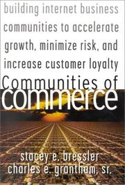 Cover of: Communities of Commerce | Stacey E. Bressler