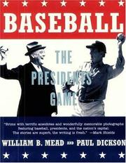 Cover of: Baseball | William B. Mead