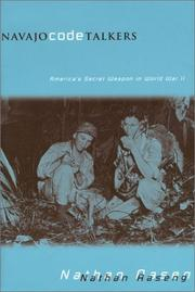 Cover of: Navajo Code Talkers by Nathan Aaseng