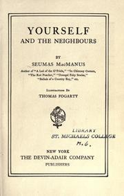 Cover of: Yourself and the neighbours