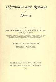 Cover of: Highways and byways in Dorset