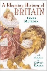 Cover of: A rhyming history of Britain | James Muirden