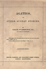 Agathos and other Sunday stories by Samuel Wilberforce