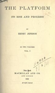 Cover of: The platform