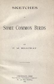 Cover of: Sketches of some common birds