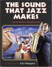 Cover of: The Sound That Jazz Makes