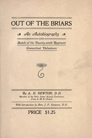 Out of the briars by A. H. Newton