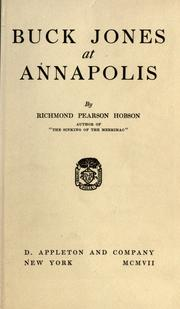 Cover of: Buck Jones at Annapolis
