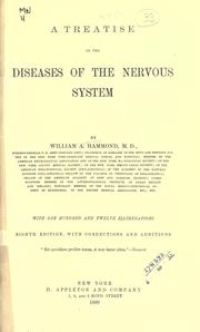 Cover of: A treatise on the diseases of the nervous system: by William A. Hammond