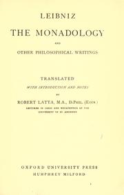 Cover of: Prose works