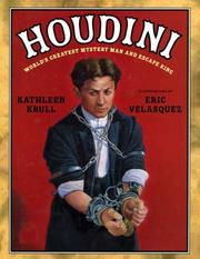 Cover of: Houdini: World's Greatest Mystery Man and Escape King