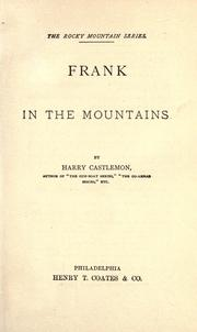 Cover of: ...Frank in the mountains