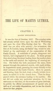 Cover of: The life of Martin Luther