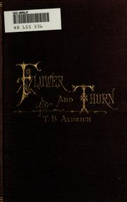 Cover of: Flower and thorn
