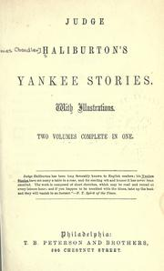 Cover of: Yankee stories: part second.