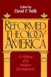Cover of: Reformed theology in America |