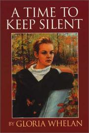 Cover of: A time to keep silent