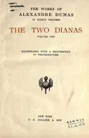 The two Dianas by Alexandre Dumas