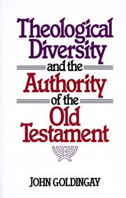 Cover of: Theological Diversity and the Authority of the Old Testament