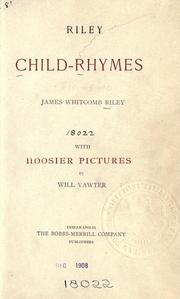 Riley child-rhymes by James Whitcomb Riley