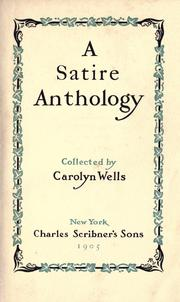 Cover of: A satire anthology