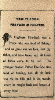 Cover of: The Princes Fire-flash & Fire-fade by