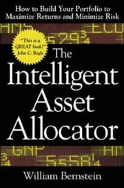 Cover of: The Intelligent Asset Allocator | William Bernstein
