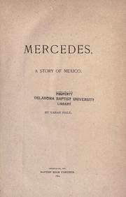 Cover of: Mercedes, a story of Mexico