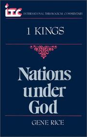 Cover of: Nations under God | Gene Rice