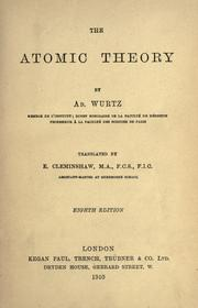 Cover of: The atomic theory
