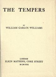 Cover of: The tempers
