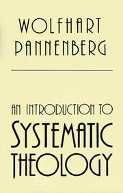 Cover of: An introduction to systematic theology