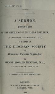 Cover of: Christ our rest and king