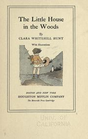 Cover of: The little house in the woods
