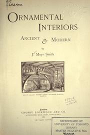 Ornamental interiors