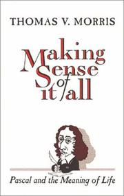 Cover of: Making sense of it all