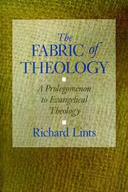 Cover of: The fabric of theology | Richard Lints