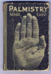 Cover of: Palmistry Made Easy