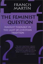 Cover of: The feminist question