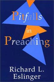Cover of: Pitfalls in preaching