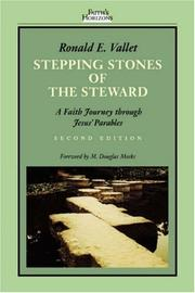 Stepping stones of the steward by Ronald E. Vallet