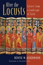 Cover of: After the Locusts: Letters from a Landscape of Faith