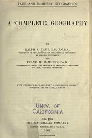 Cover of: A complete geography