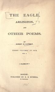 Cover of: The eagle, Arlington, and other poems