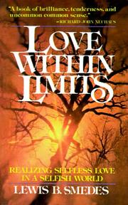 Cover of: Love within limits