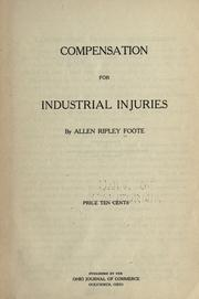 Cover of: Compensation for industrial injuries