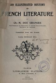 Cover of: An illustrated history of French literature