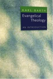 Cover of: Evangelical Theology